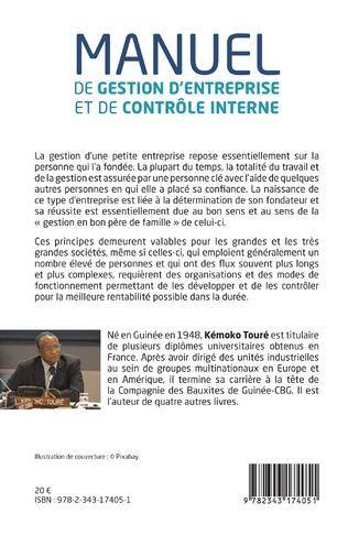 4eme Manuel de gestion d'entreprise et de contrôle interne