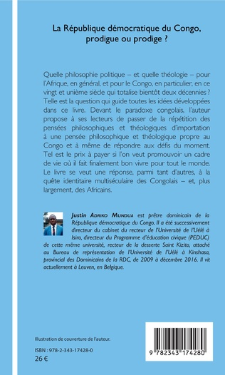 4eme La République démocratique du Congo, prodigue ou prodige ?