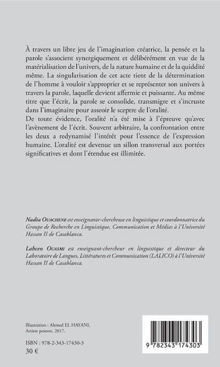 4eme L'oralité, de la production à l'interprétation