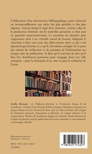 4eme 85 ans de littérature marocaine de langue française