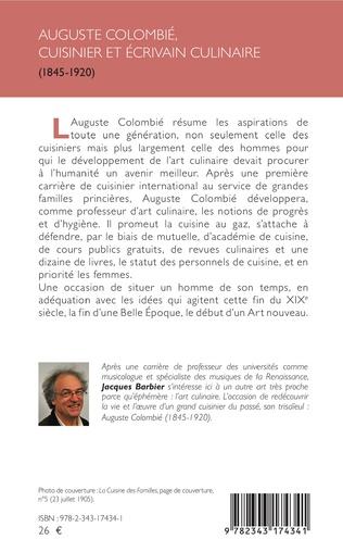 4eme Auguste Colombié, cuisinier et écrivain culinaire