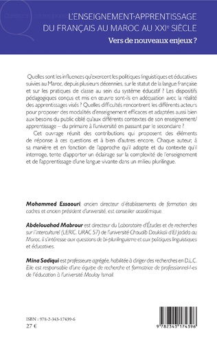 4eme L'enseignement-apprentissage du français au Maroc au XXIe siècle