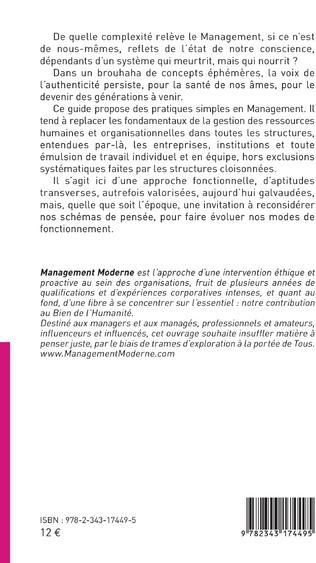 4eme Management : science ou bon sens ?