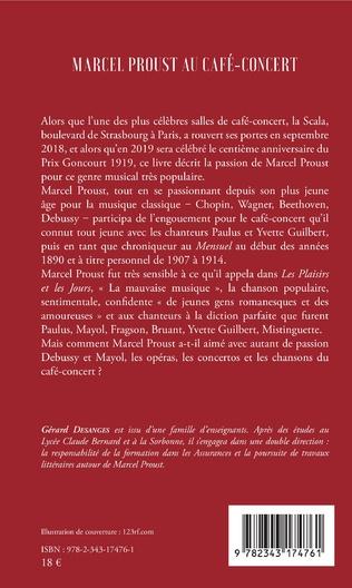 4eme Marcel Proust au café-concert