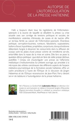 4eme Autopsie de l'autorégulation de la presse Haïtienne