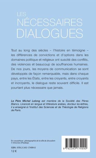 4eme Les nécessaires dialogues