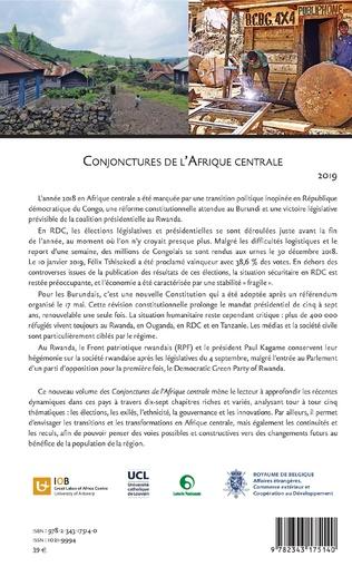 4eme Conjonctures de l'Afrique centrale 2019