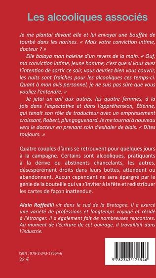 Les Alcooliques Associes Alain Raffaelli Livre Ebook Epub