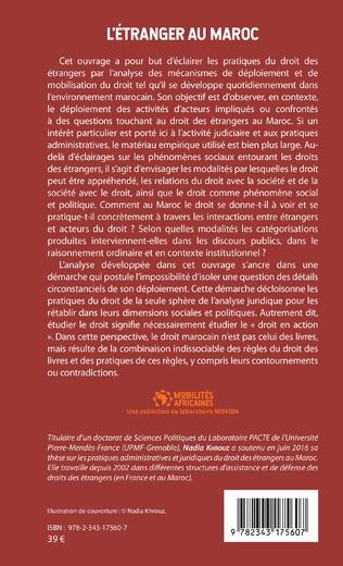4eme L'étranger au Maroc