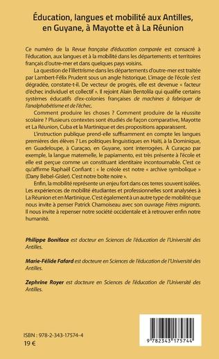 4eme Education, langues et mobilité aux Antilles, en Guyane, à Mayotte et à La Réunion