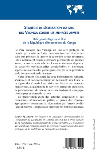 4eme Stratégie de sécurisation du parc des Virunga contre les menaces armées