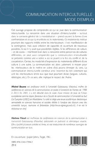 4eme Communication interculturelle : mode d'emploi