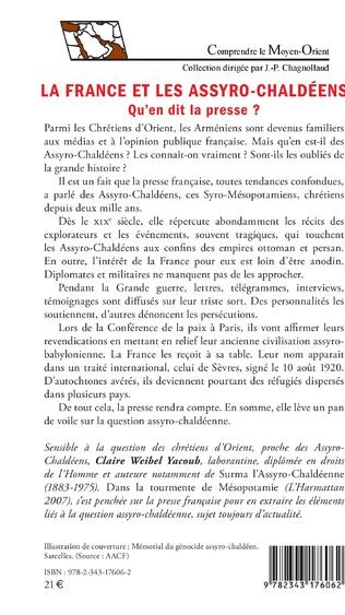 4eme La France et les Assyro-Chaldéens