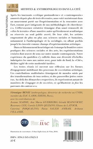 4eme Artistes & anthropologues dans la Cité