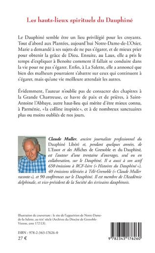 4eme Les hauts-lieux spirituels du Dauphiné