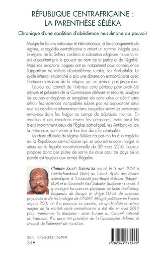 4eme République centrafricaine : la parenthèse Séléka