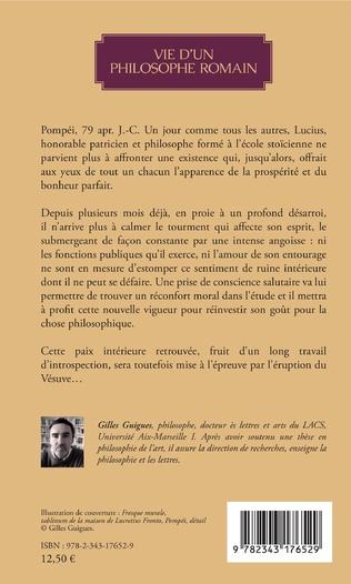 4eme Vie d'un philosophe romain
