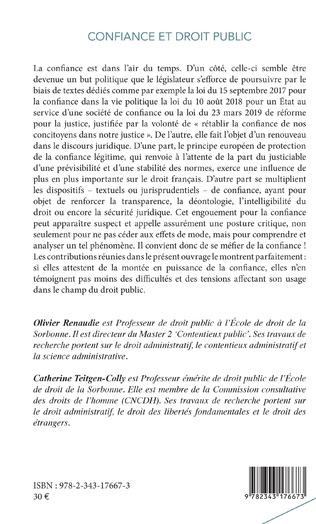 4eme Confiance et droit public