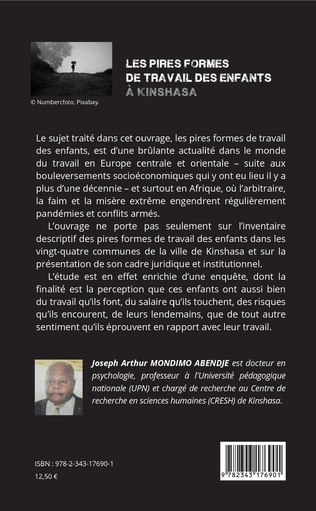 4eme Les pires formes de travail des enfants à Kinshasa
