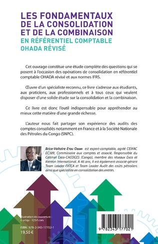 4eme Les fondamentaux de la consolidation et de la combinaison en référentiel comptable OHADA révisé