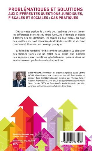 4eme Problématiques et solutions aux différentes questions juridiques, fiscales et sociales : cas pratique