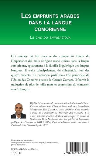4eme Les emprunts arabes dans la langue comorienne