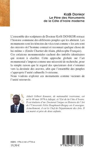 4eme Koffi Donkor. Le Père des Monuments de la Côte d'Ivoire moderne