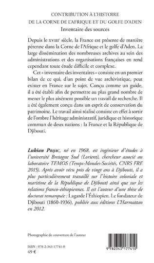 4eme Contribution à l'histoire de la Corne de l'Afrique et du golfe d'Aden