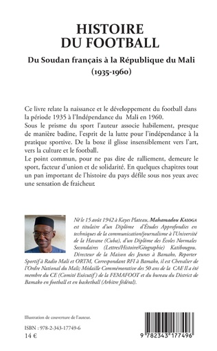 4eme Histoire du football. Du Soudan français à la République du Mali (1935-1960)