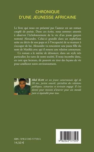 4eme Chronique d'une jeunesse africaine