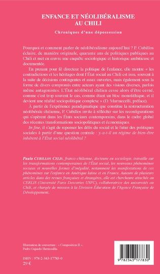 4eme Enfance et néolibéralisme au Chili