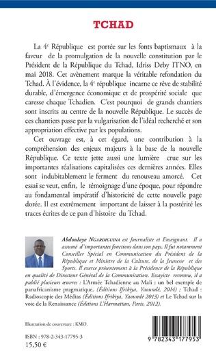 4eme Tchad La 4ème République en marche