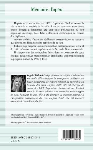 4eme Mémoire d'opéra