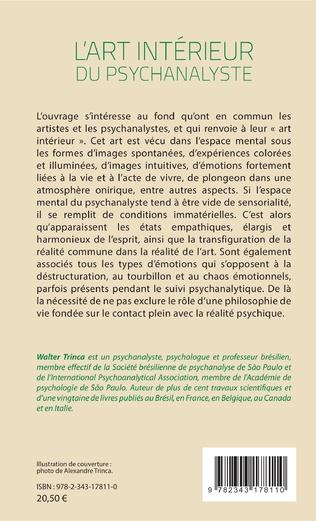 4eme L'art intérieur du psychanalyste