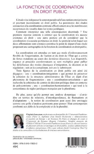 4eme La fonction de coordination en droit public