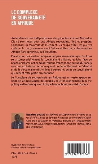 4eme Le complexe de souveraineté en Afrique