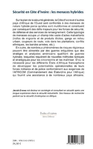 4eme Sécurité en Côte d'Ivoire : les menaces hybrides