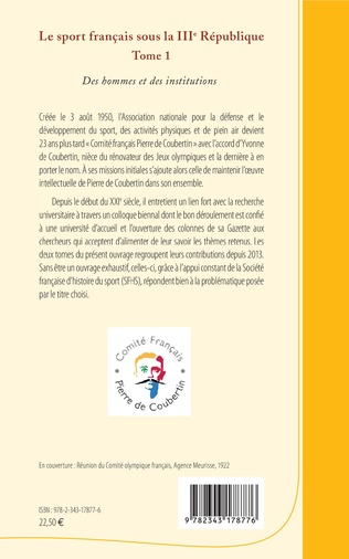 4eme Le sport français sous la IIIe République
