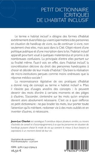 4eme Petit dictionnaire [critique] de l'habitat inclusif