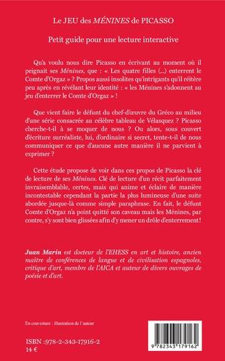 4eme Le JEU des <em>MÉNINES </em>de PICASSO
