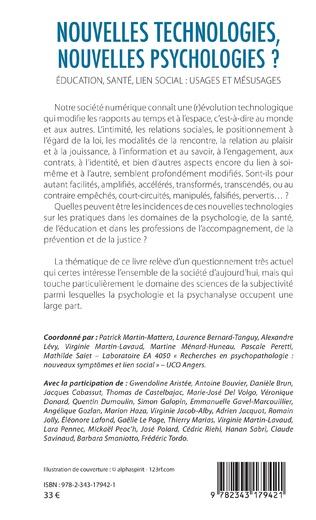 4eme Nouvelles technologies, nouvelles psychologies ?