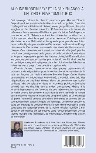 4eme Alioune Blondin Beye et la paix en Angola : un long fleuve tumultueux