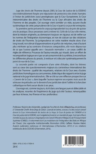4eme Le contentieux de la violation des droits de l'homme devant la cour de justice de la CEDEAO