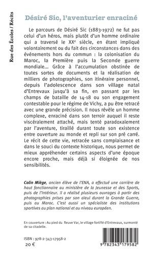 4eme Désiré Sic, l'aventurier enraciné