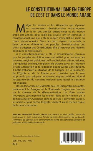 4eme Le constitutionnalisme en Europe de l'Est et dans le monde arabe