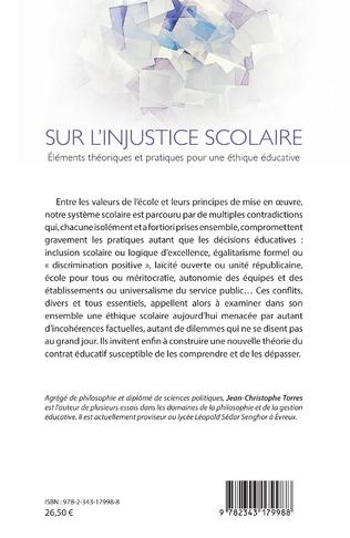 4eme Sur l'injustice scolaire