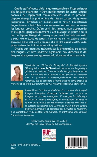4eme Les interférences linguistiques du français sur le slovaque