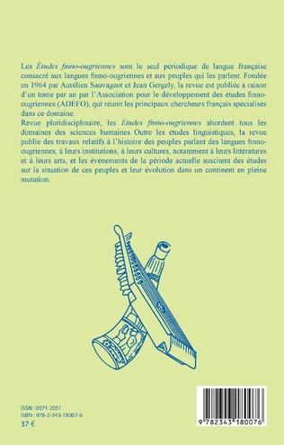 4eme Études Finno-Ougriennes