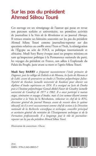 4eme Sur les pas du président Ahmed Sékou Touré