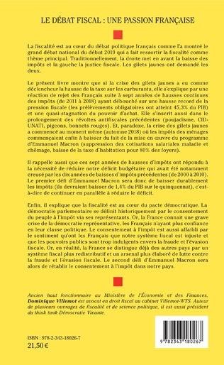 4eme Le débat fiscal : une passion française